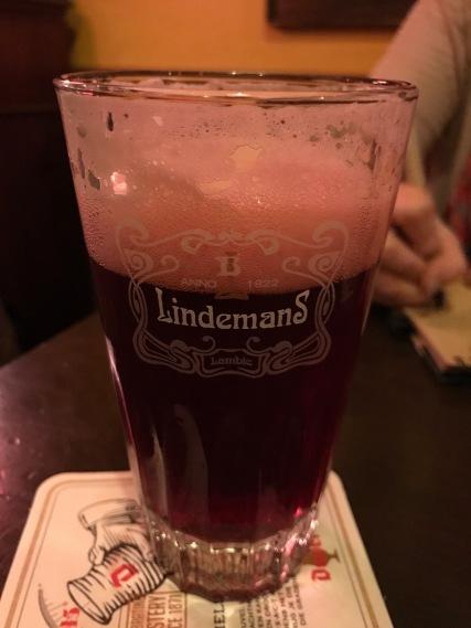 Cherry beer!